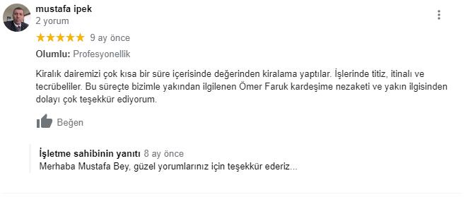 Mustafa İpek Yorum